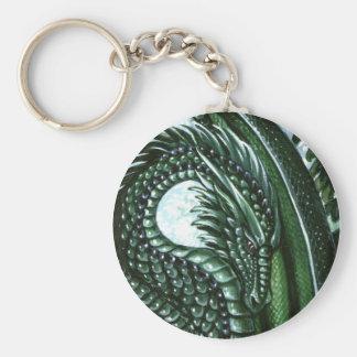 Emerald Dragon Keychain