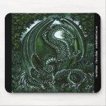 Emerald Dragon Mousepad