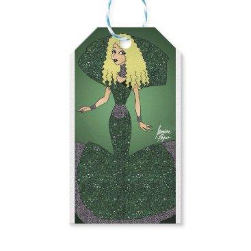 jasmineflynn Emerald Empress Gift Tags