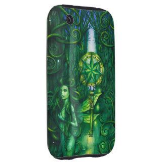 Emerald Fairy Forest iPhone 3 Tough Covers