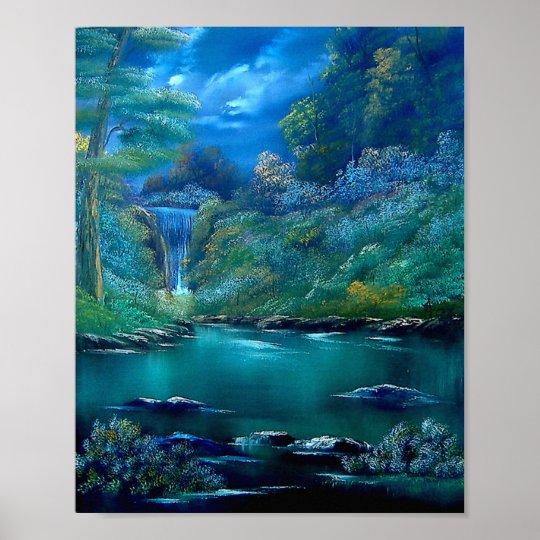 Emerald Falls Poster