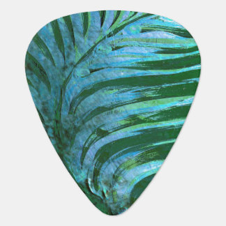Emerald Feathering I Guitar Pick