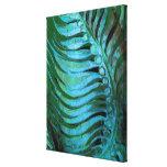 Emerald Feathering II Canvas Print