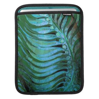 Emerald Feathering II iPad Sleeve