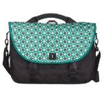emerald flower bag for laptop