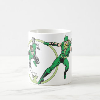 Emerald Gladiator & Emerald Archer Coffee Mug