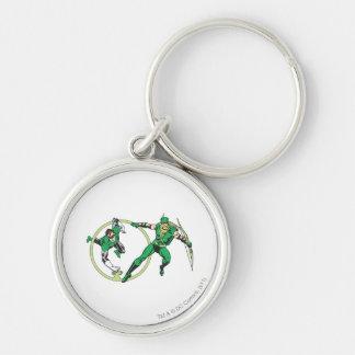 Emerald Gladiator & Emerald Archer Keychain