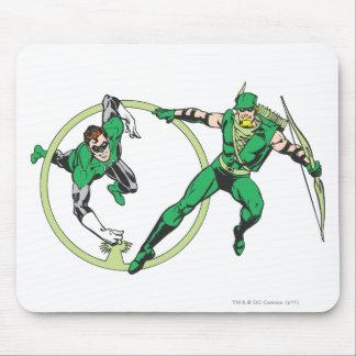 Emerald Gladiator & Emerald Archer Mouse Pad