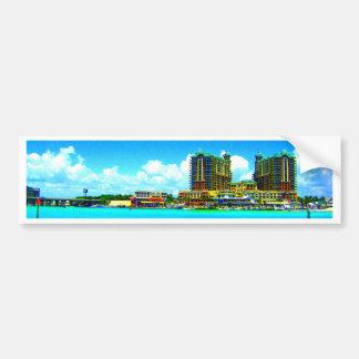 Emerald Grande Destin Florida hotel beach Bumper Sticker