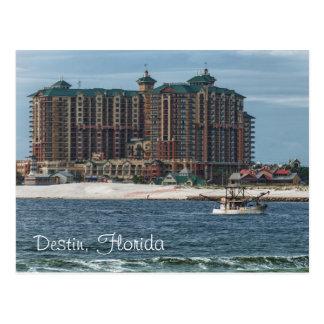 Emerald Grande, Destin Florida Postcard