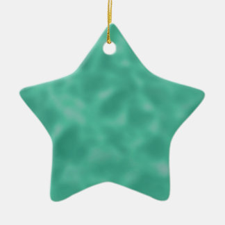 Emerald Green and White Mottled Ornaments