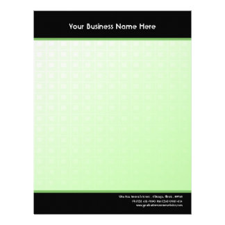 Emerald Green Business Letterhead