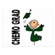 Emerald Green CHEMO GRAD 1 (Liver Cancer) Postcard