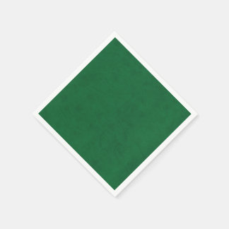 Emerald Green Color Velvet Custom Home Casino Paper Napkin