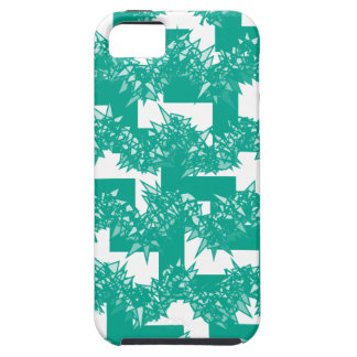 Emerald Green Crystal Steps iPhone 5 Case