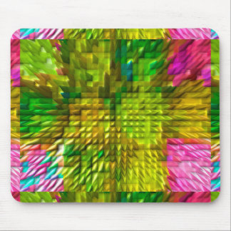 Emerald Green DIAMOND Graphics Mouse Pad