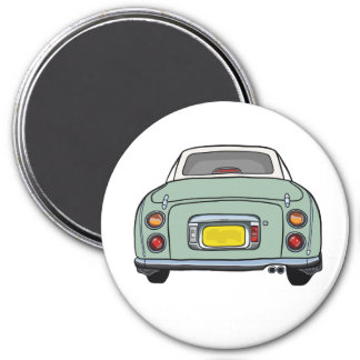 Emerald Green Figaro Car Magnet