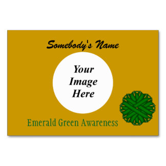 Emerald Green Flower Ribbon Template by K Yoncich Card