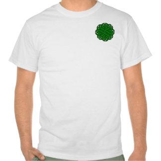 Emerald Green Flower Ribbon Shirts