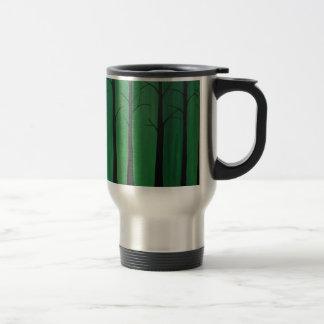Emerald Green Forest Travel Mug