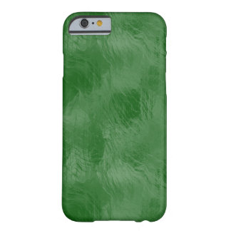 Emerald Green Frosted Glass Digital Art Phone Case
