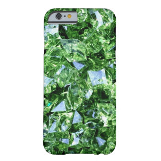 Emerald green geode crystal gemstone photo hipster barely there iPhone 6 case