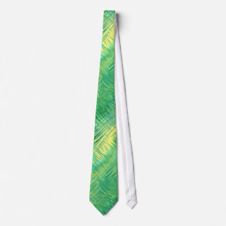 Emerald Green Glassy Texture Neck Tie