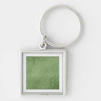 Emerald Green Glazed Satin Silk - Elite Collection Keychain