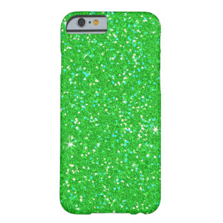 Emerald Green Glitter Effect Sparkle Barely There iPhone 6 Case