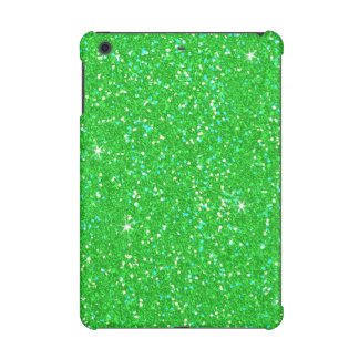 Emerald Green Glitter Effect Sparkle iPad Mini Cover