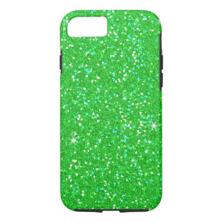 Emerald Green Glitter Effect Sparkle iPhone 7 Case