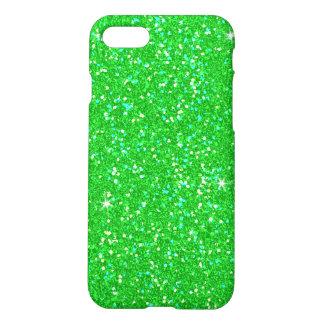 Emerald Green Glitter Effect Sparkle iPhone 8/7 Case