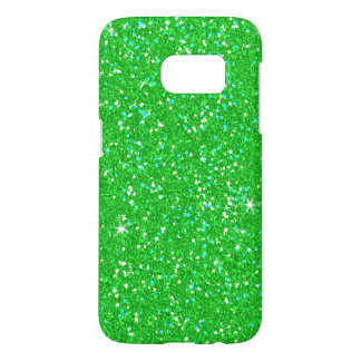 Emerald Green Glitter Effect Sparkle Samsung Galaxy S7 Case