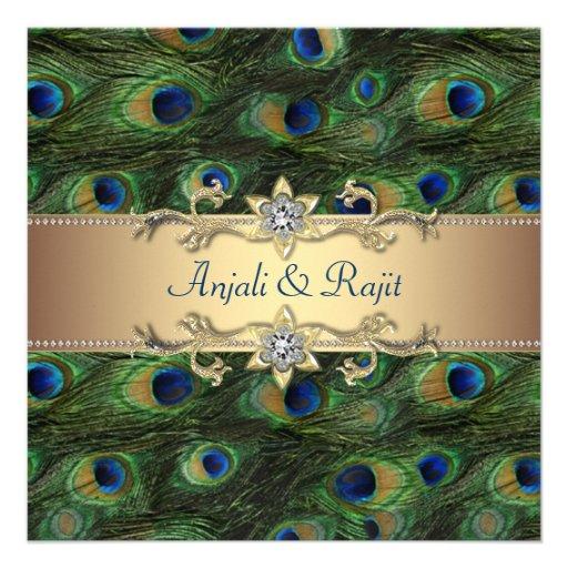 Wedding Ideas Using Peacock Feathers
