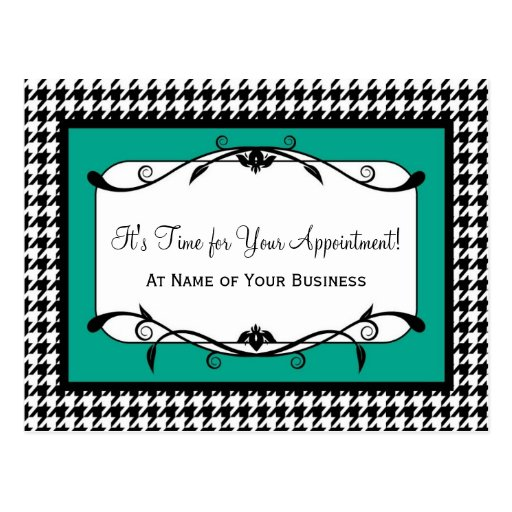 Simple Appointment Card - Good For Any Type Of Business
