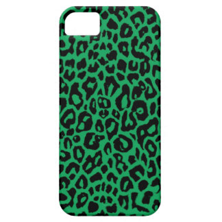 Emerald Green Leopard Animal Skins iPhone SE/5/5s Case
