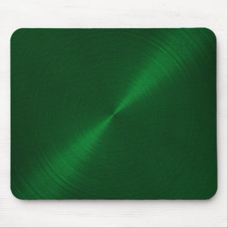 Emerald Green Metallic Look Mouse Pad