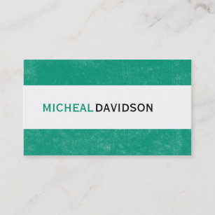 Emerald green business cards zazzle emerald green modern consultant business cards reheart Gallery