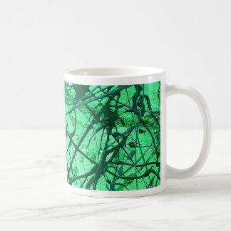 EMERALD GREEN ~ CLASSIC WHITE COFFEE MUG