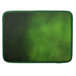 Emerald Green Ombre MacBook Sleeve Sleeves For MacBooks