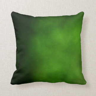 Emerald Green Ombre Pillow