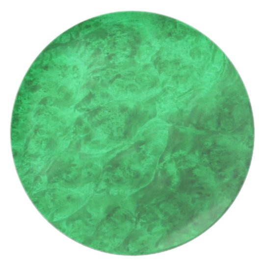 Emerald Green Plate