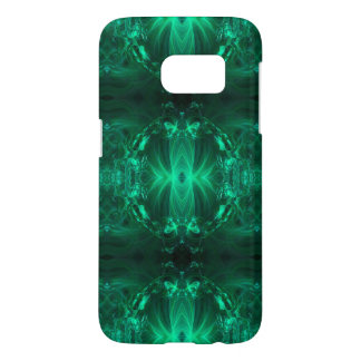Emerald Green Ribbons Samsung Galaxy S7 Case
