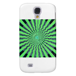 Emerald Green Show - Waves, Sparkle n Panorama Galaxy S4 Cover