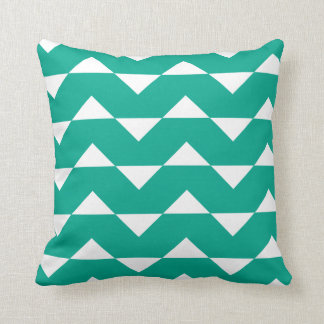 Emerald Green Sparre Pattern Accent Pillow