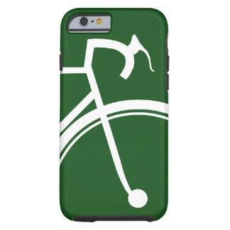 Emerald green sporty Bike iPhone case Tough iPhone 6 Case
