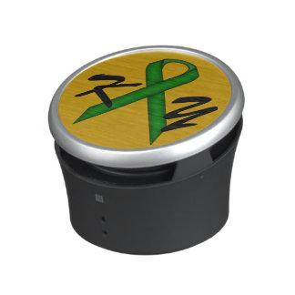 Emerald Green Standard Ribbon by Kenneth Yoncich Speaker