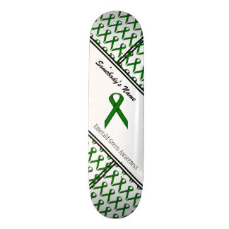 Emerald Green Standard Ribbon Skateboard Deck