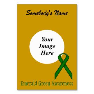 Emerald Green Standard Ribbon Template Card