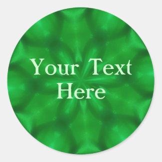 Emerald Green Stickers